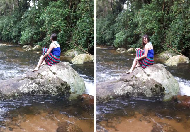 Rio em Ilhabela