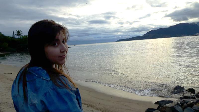 Fim de tarde na Praia do Perequê em Ilhabela