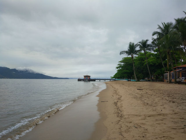 Praia do Perequê em Ilhabela