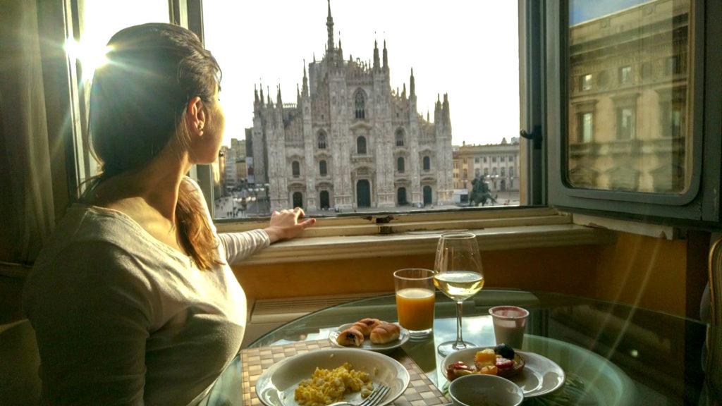 breakfast milano duomo