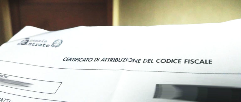 codice fiscale destaque