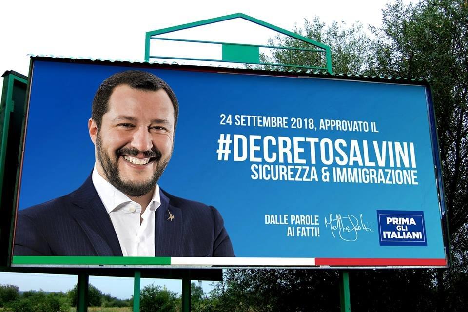 decreto salvini cidadania italiana