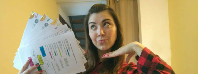 Organizando os documentos para a cidadania italiana