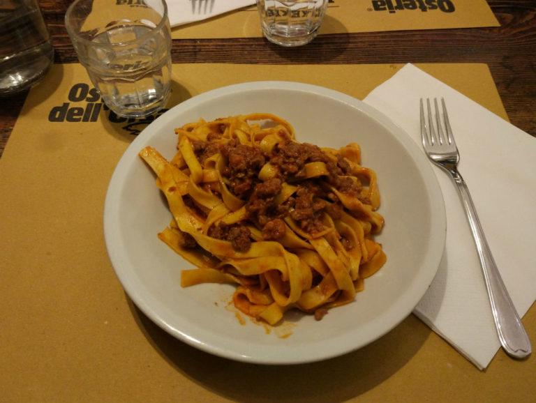 Onde comer bolonhesa em Bolonha?