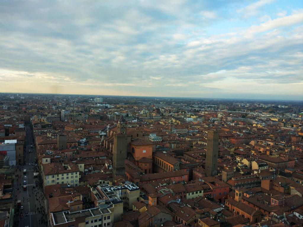 torre asinelli bolonha vista 03