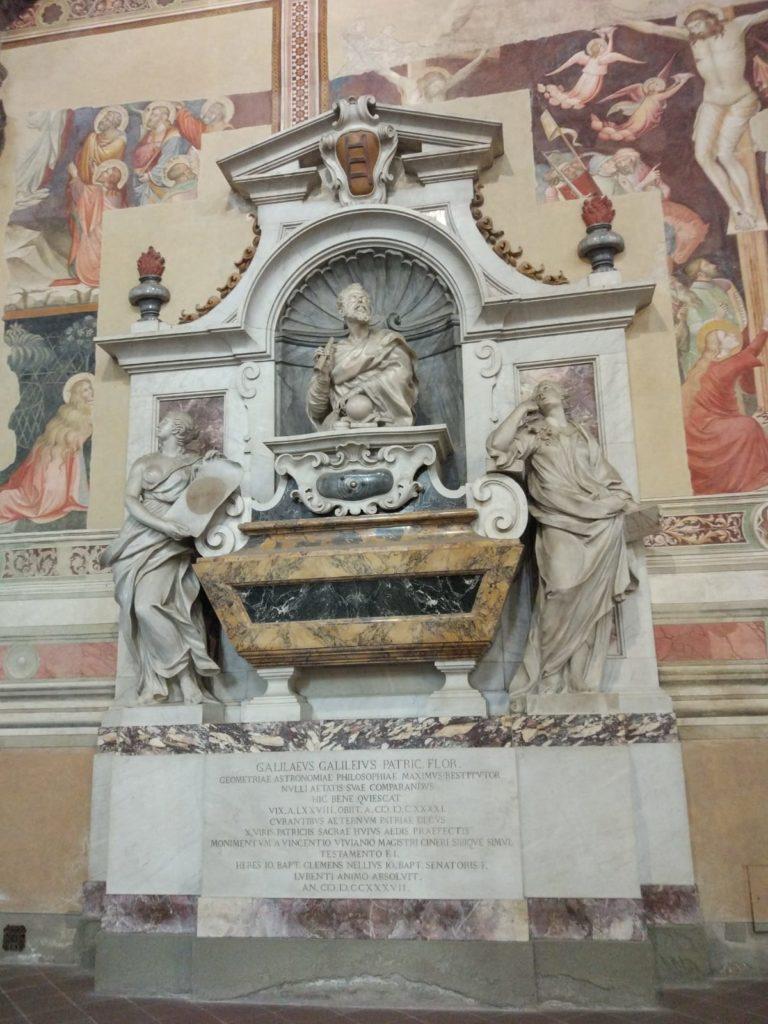 tumba galileu santa croce italia