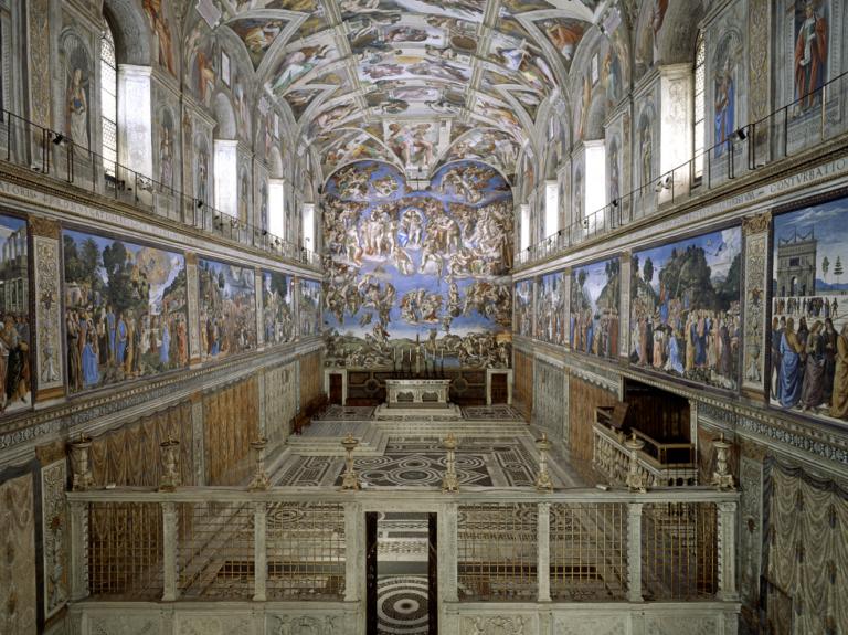 O jeito errado de visitar a Capela Sistina