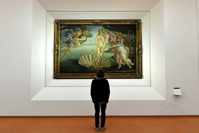 Em Florença, se respira arte. E se paga para respirar.