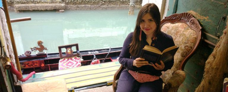 Visitei a livraria Acqua Alta, uma das mais bonitas do mundo, em Veneza