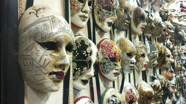 veneza carnaval mascaras
