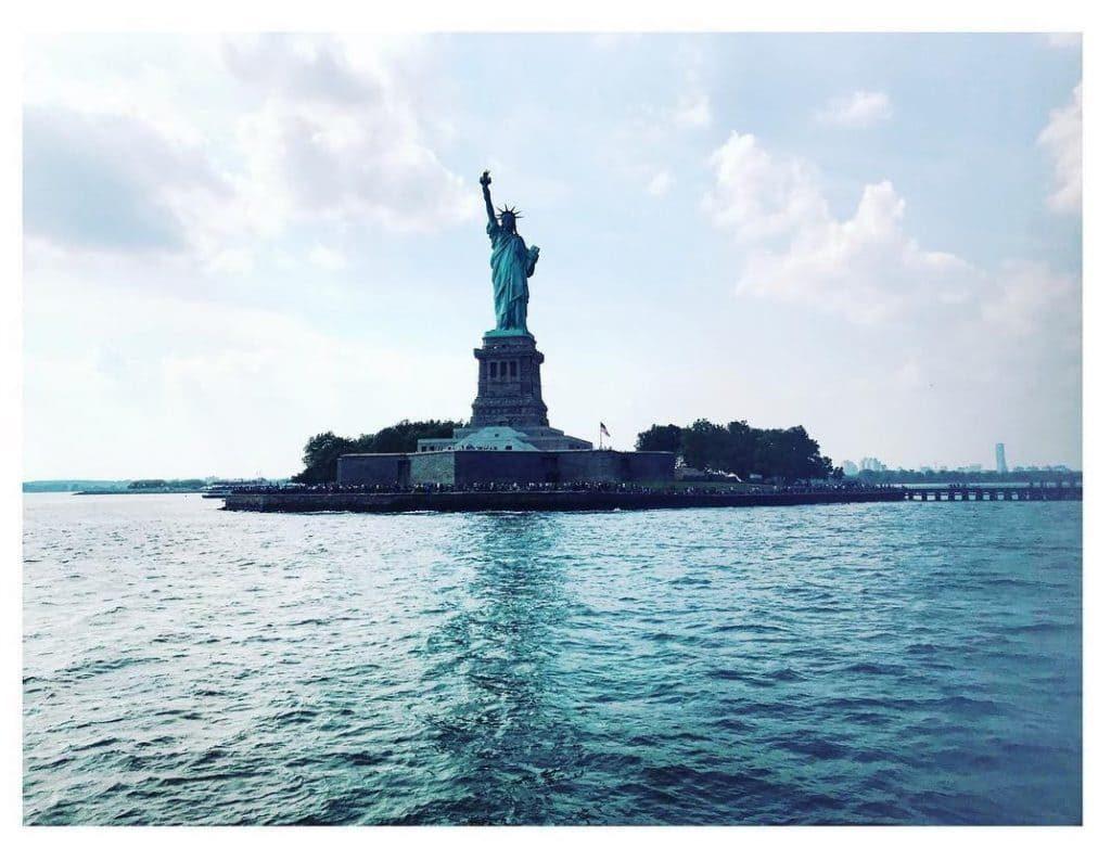 Foto da Estátua da Liberdade em Nova York