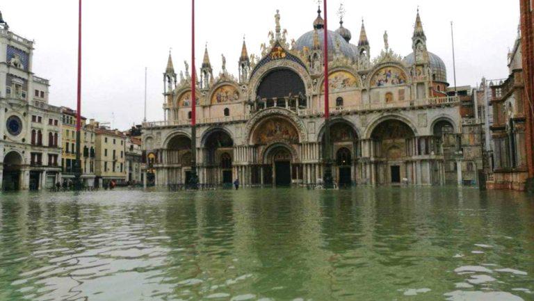 Acqua alta em Veneza: inundação bate recorde em 2019