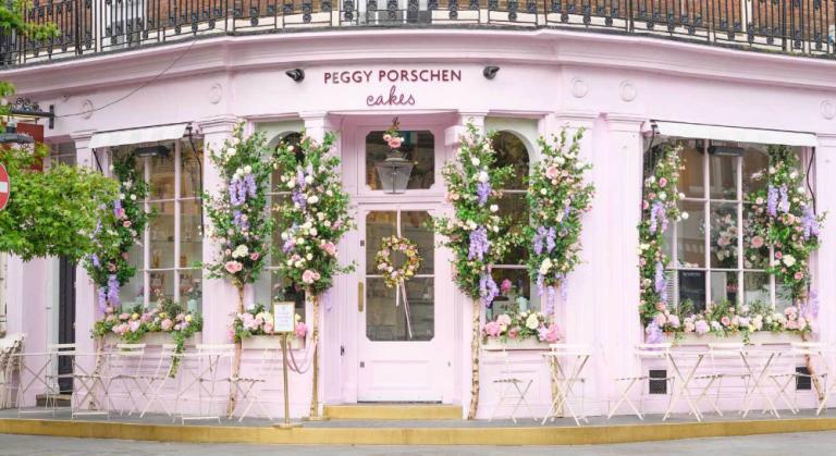 Café fofo em Londres: chá da tarde no Peggy Porschen