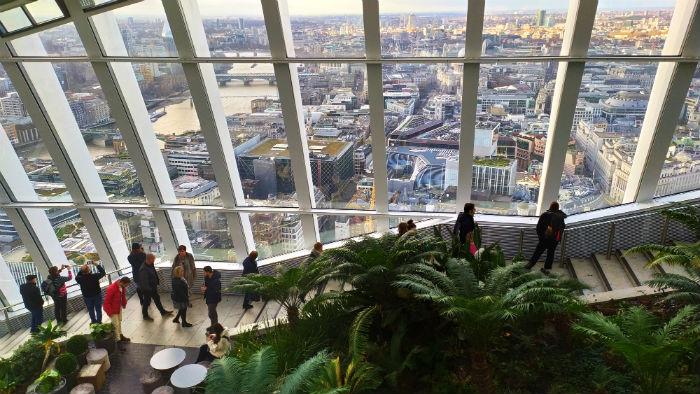 Como visitar o Sky Garden em Londres (2020)