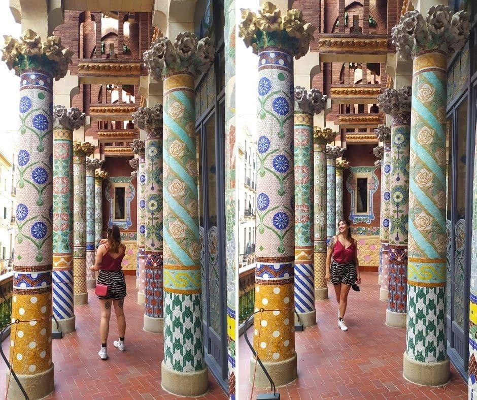 Varanda do Palau de la Musica Catalana