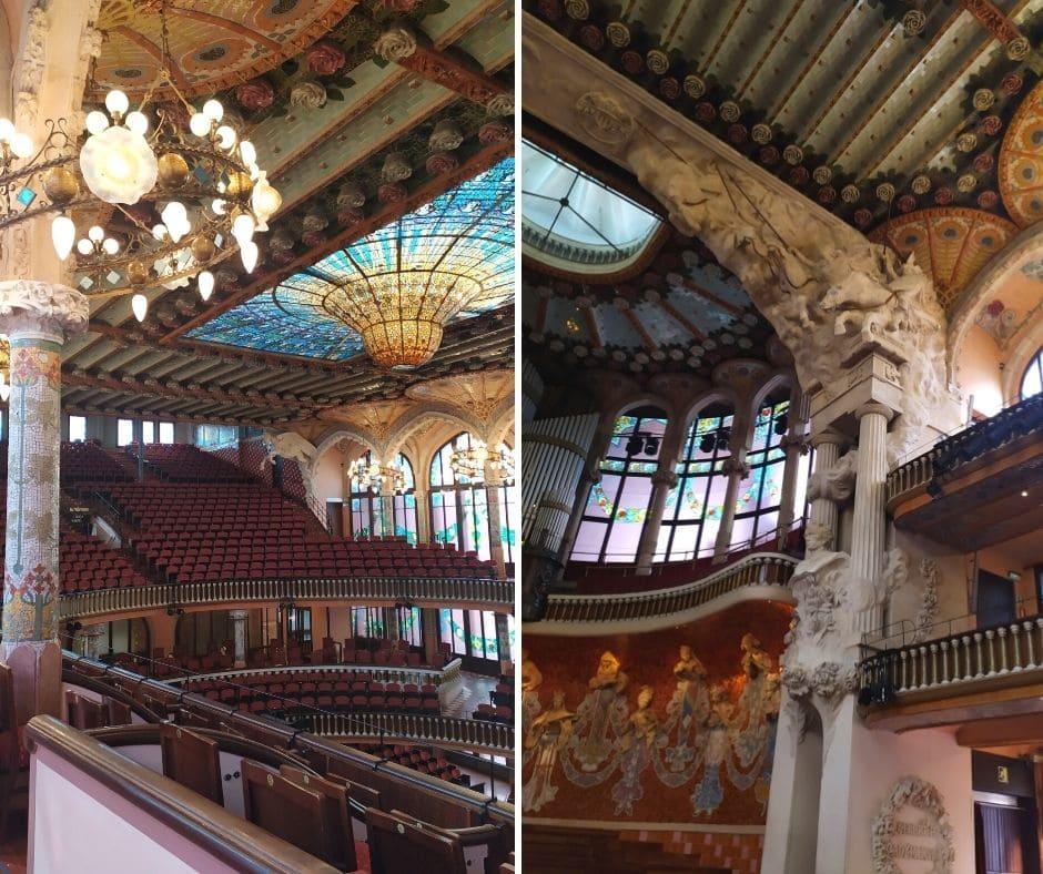 Palau de la Musica Catalana: sala de concertos