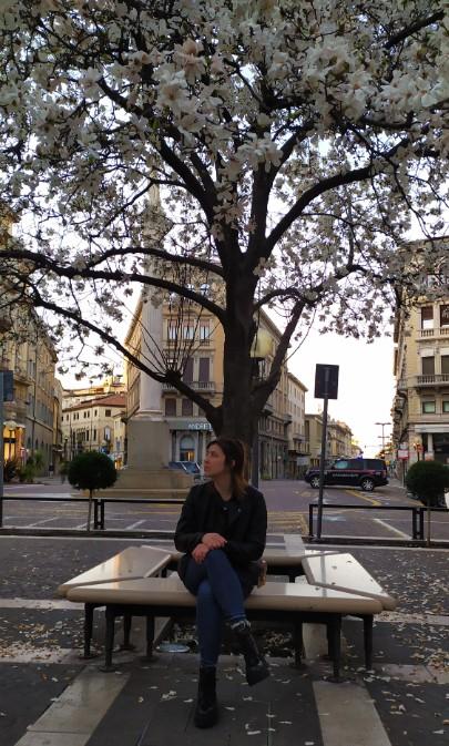 Chegada da primavera na Itália