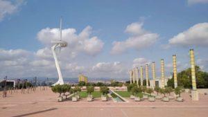 Torre de Montjuic e Anel Olímpico