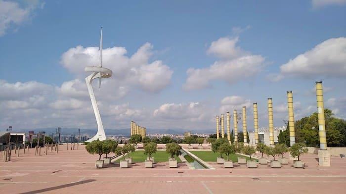 Visitando o Anel Olímpico e Museu Olímpico e do Esporte, em Barcelona