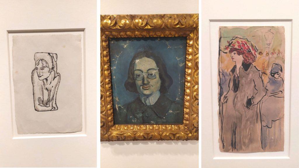 Obras de Picasso no Museu Picasso em Barcelona
